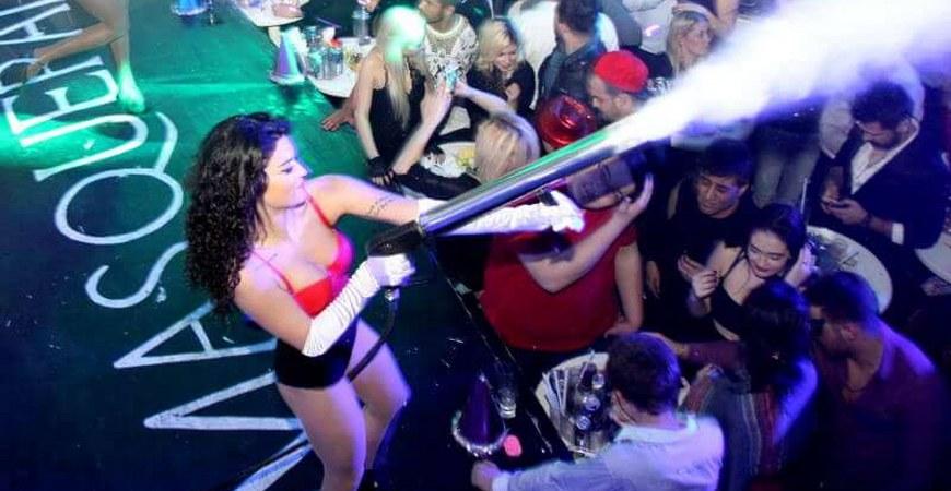 Masquerade NightClub in Istanbul