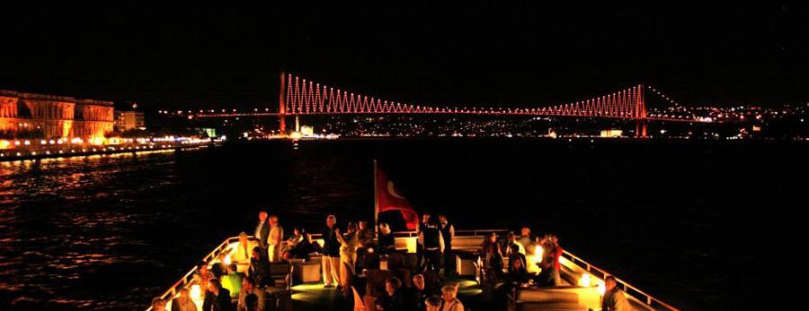 Istanbul New Year Bosphorus